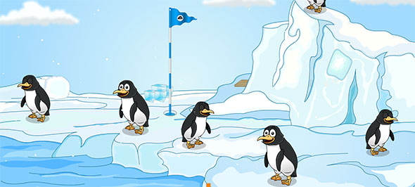 Crazy Penguin Escape: point and click escape