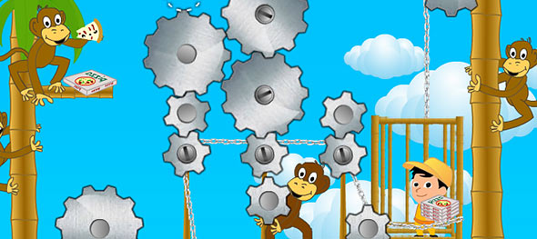 image of Monkey Broken Elevator: gameplay