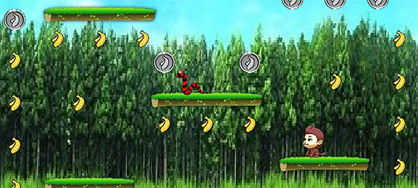 image of Monkey Eat Banana gameplay