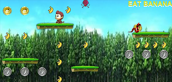 image of Monkey Eat Banana level 4 preview
