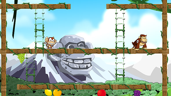image of Monkey In Trouble Gameplay