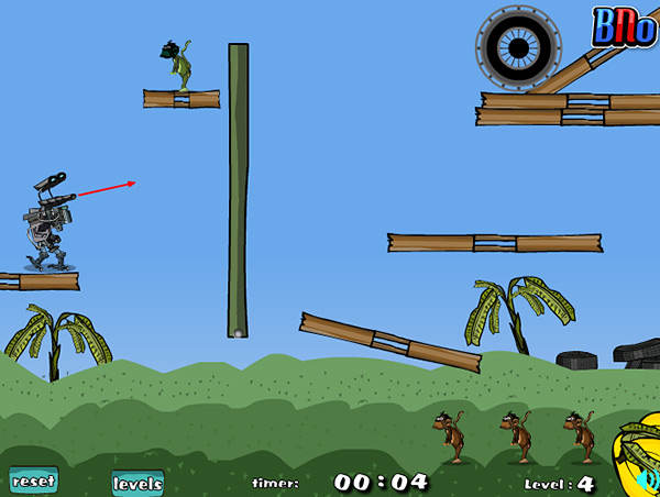 Shoot The Monkey online game