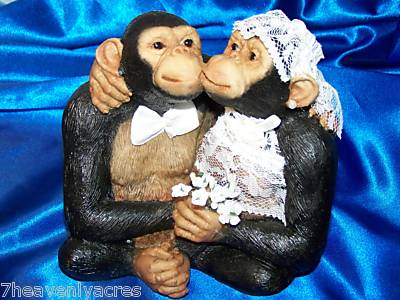 """A017 Handicrafts Repro oil painting:""""Monkey's wedding"""" 24x36(no ..."""