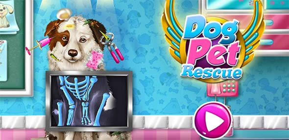 image of Dog Pet Rescue game poster