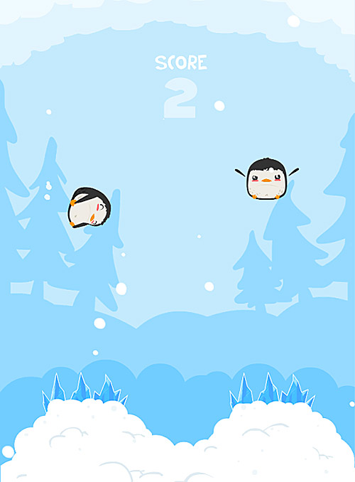 super penguin panic screenshot 1