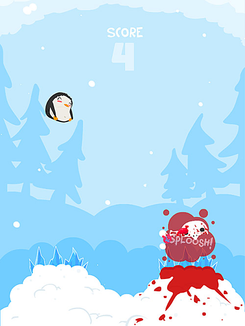 super penguin panic screenshot 2